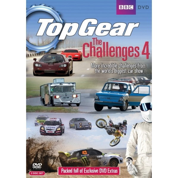 Top Gear - The Challenges 4 DVD