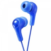 JVC HAFX7A Gumy Plus In Ear Headphones Blue