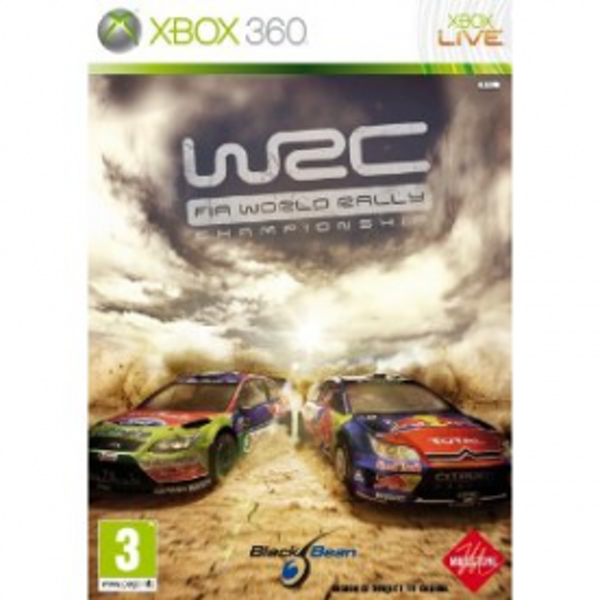 WRC FIA World Rally Championship Game Xbox 360
