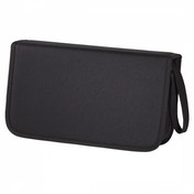 Hama CD wallet for storing 104 CDs/DVDs/Blu-rays, black