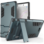 Sony Xperia XZ1 Compact Armour Kickstand Case - Steel Blue
