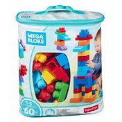 Mega Bloks Classic Buildable Bag 60 Pieces