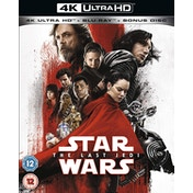 Star Wars: The Last Jedi 4K UHD   Blu-ray