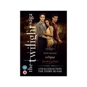 Twilight Saga Quad Film Collection Box Set DVD
