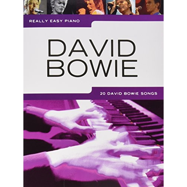 Really Easy Piano: David Bowie by Music Sales Ltd (Paperback, 2016)