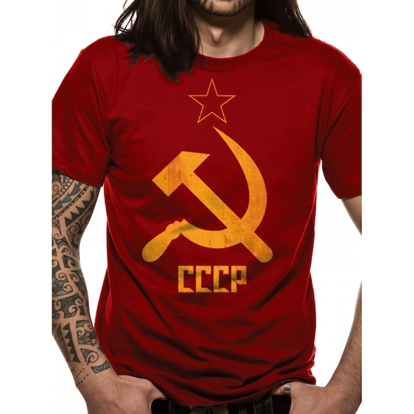 Cid Originals - CCCP Men's XX-Large T-Shirt - Red