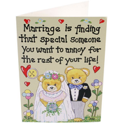 Pack of 6 Marriage Is Finding That Smiley Cards