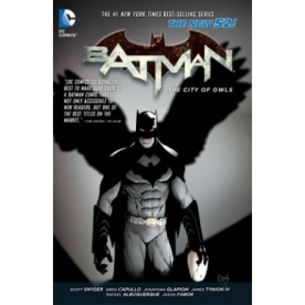 Batman Volume 2 The City of Owls The New 52 TP