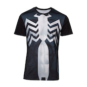 Spider-man - Venom Suit Sublimation Men's Large T-Shirt - Black