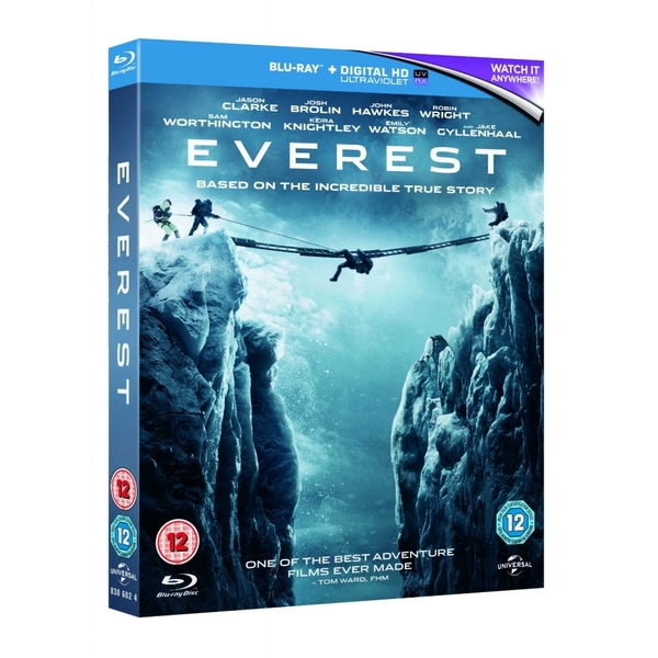 Everest 2015 Blu-ray