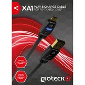 Gioteck XA-1 Play & Charge Cable for PS4 and Xbox One Micro-USB