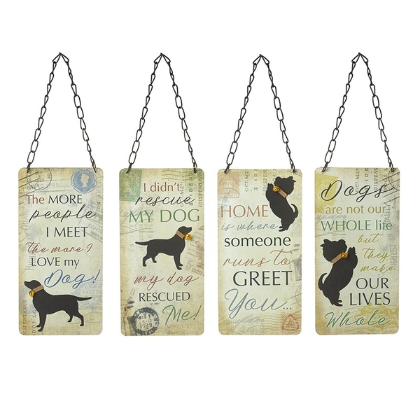 Dog Sign (One Random Supplied) by Heaven Sends