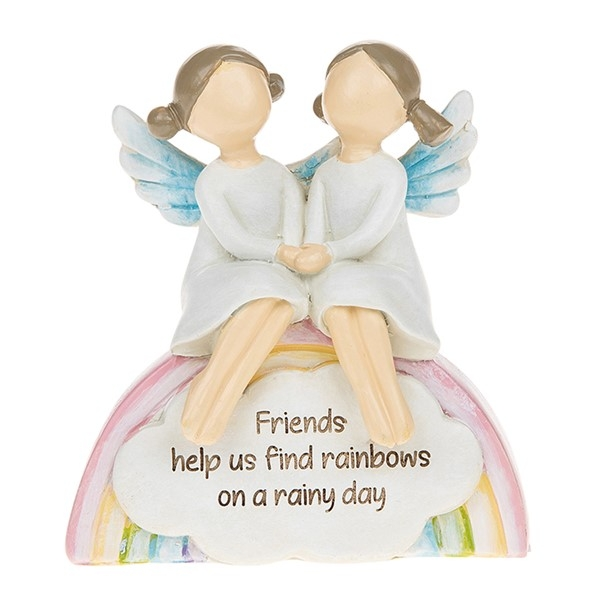 Rainbow Angels Friends Rainyday Ornament