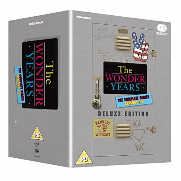 The Wonder Years - The Complete Series: Deluxe Edition (26 disc box set) DVD