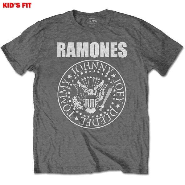 Ramones - Presidential Seal Kids 11 - 12 Years T-Shirt - Grey