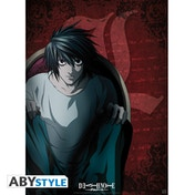 Death Note - L Character Small Poster