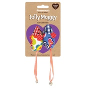 Rosewood Jolly Moggy Patchwork Mice Duo Cat Toy