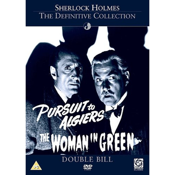 Sherlock Holmes - Pursuit To Algiers / The Woman In Green DVD