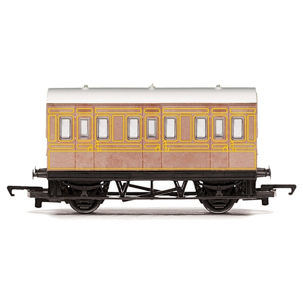 Hornby LNER Four-wheel Coach Era 3 Model Train