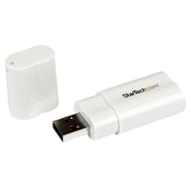 USB to Stereo Audio Adapter Converter