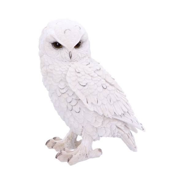 Snowy Watch (Large) White Owl Ornament