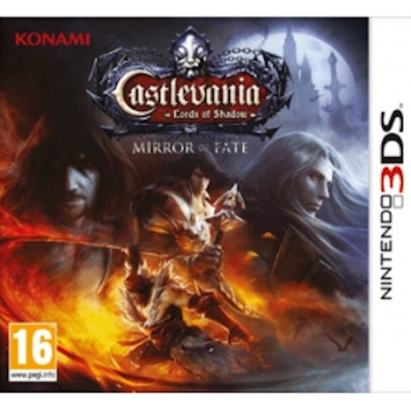 Castlevania Lords of Shadow Mirror Of Fate 3DS