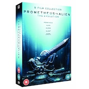 Prometheus to Alien The Evolution Box Set DVD