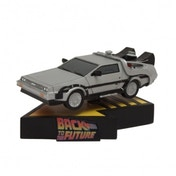 Back to the Future DeLorean Time Machine Premium Motion Statue