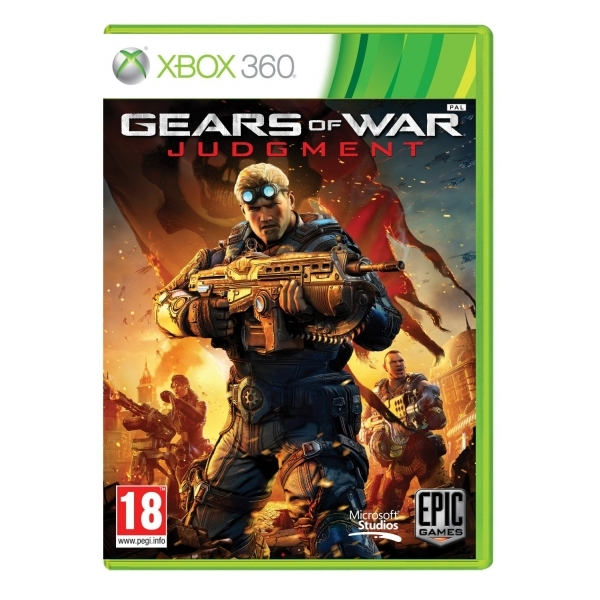 Gears Of War Judgment Game Xbox 360 - Image 1