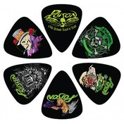 Poison - 6 Pack Guitar Pick Set