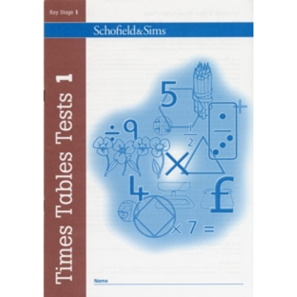 Times Tables Tests: Book 1 by Steve Mills, Hilary Koll (Paperback, 2008)