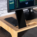 Bamboo Monitor Stand   M&W 1 Tier - Image 6