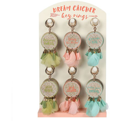Boho Dream Catcher Hanging Key Chain Pack Of 30