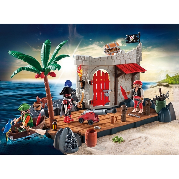 Playmobil Pirate Fort Super Set - Image 2