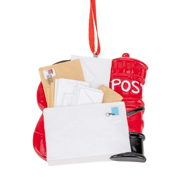 Personalisable Postal Worker Ornament