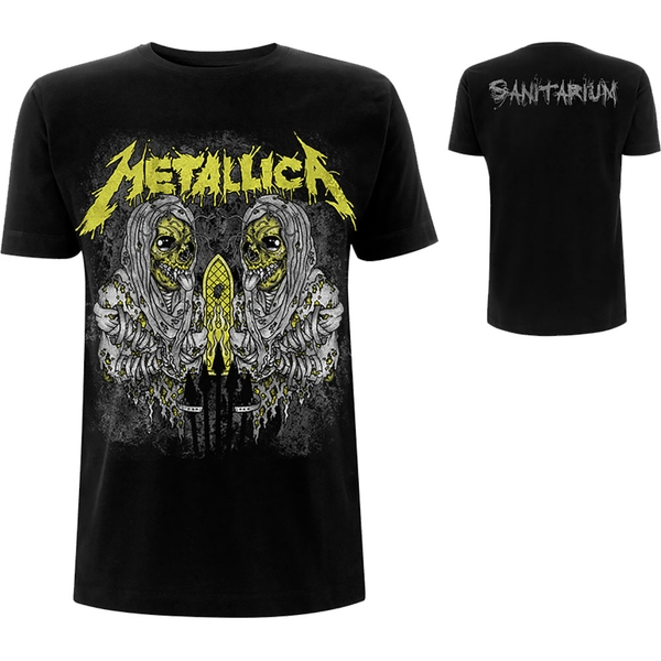 Metallica - Sanitarium Men's X-Large T-Shirt - Black