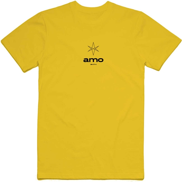 Bring Me The Horizon - Hexagram Amo Small Men's Large T-Shirt - Yellow