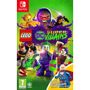 Lego DC Super Villains Mini-Fig Edition Nintendo Switch Game (Lex Luthor Figurine)