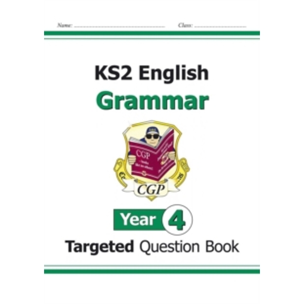 KS2 English Targeted Question Book: Grammar - Year 4 by CGP Books (Paperback, 2014)