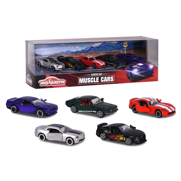 Muscle Cars 5 Pack