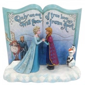 Disney Traditions Act of Love (Storybook Frozen) Figure