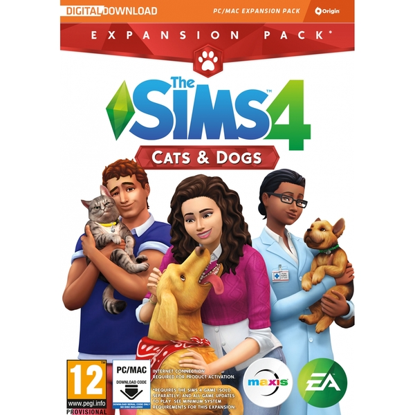 The Sims 4 Cats & Dogs PC Game