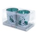 Cat Design Glass Set of 2 Candle Holder - Image 4