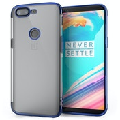 OnePlus 5T Shockproof Gel Case Blue
