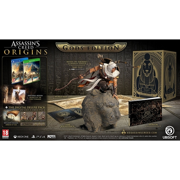 Assassin's Creed Origins Gods Collectors Edition PS4 Game