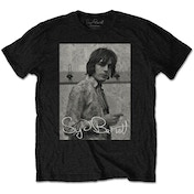 Syd Barrett - Smoking Men's XX-Large T-Shirt - Black