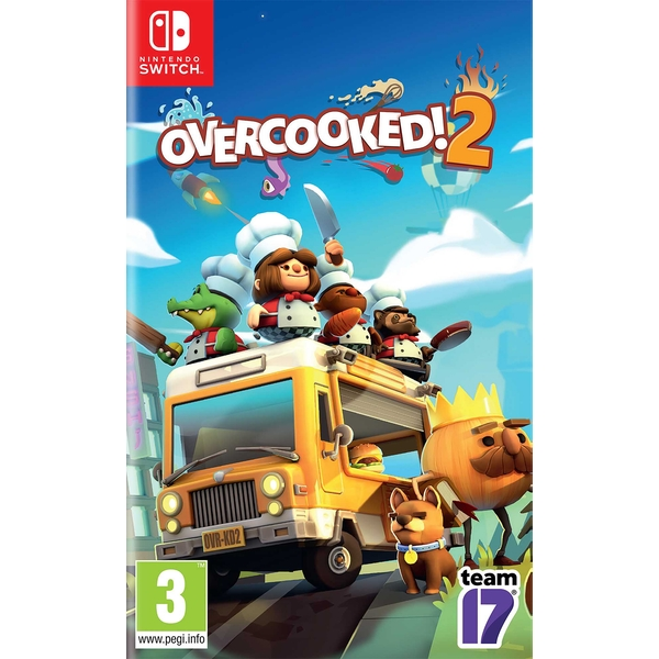 Overcooked! 2 Nintendo Switch Game