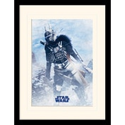 Solo: A Star Wars Story - Enfys Nest Pose Mounted & Framed 30 x 40cm Print