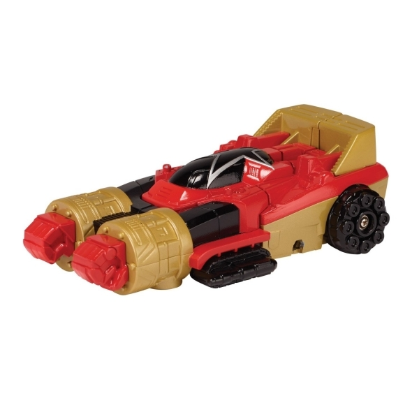 Power Rangers Super Megaforce Zeo Racer Zord and Figure