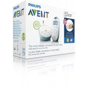 Philips AVENT DECT Baby Monitor SCD560/01 with Light, Lullabies and Temperature Sensor